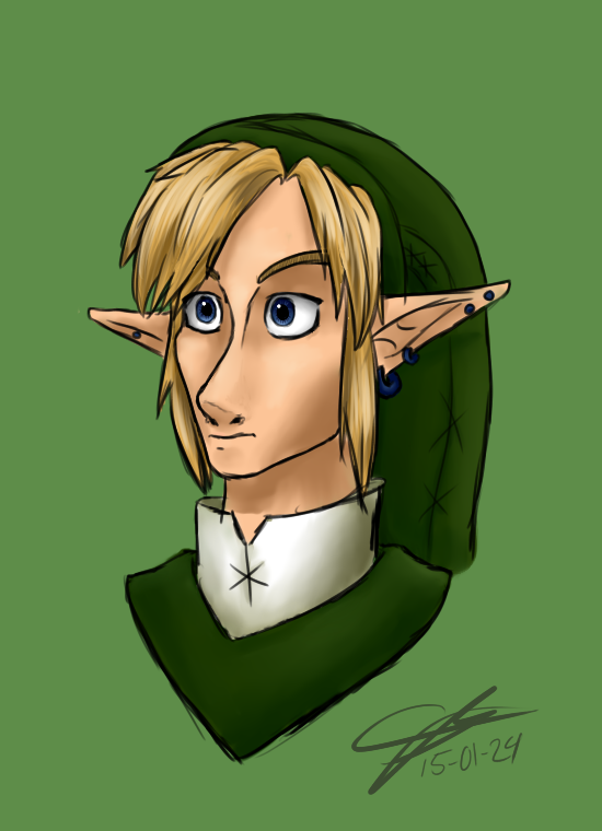 Link Portrait by bunslake
