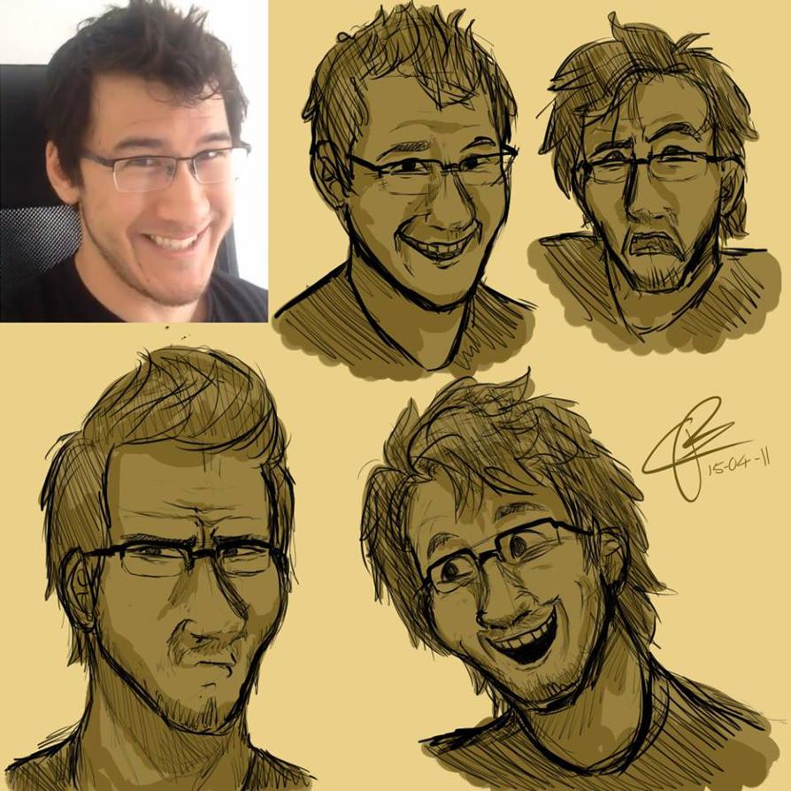 Mark doodles by bunslake