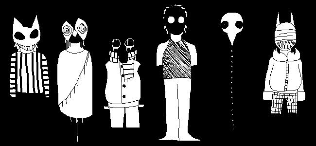 Masked People by bunslake