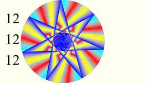 121212 Rainbow Starburst