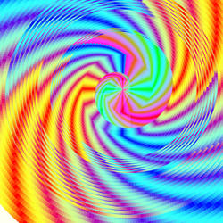 An Eye Test For Schizophrenic Rainbows