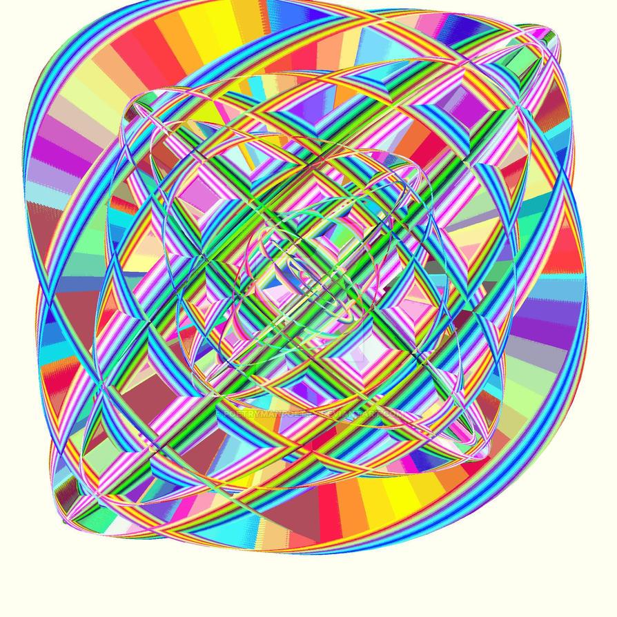 Hyper Dimensional Rainbows by poetrymanpoetry