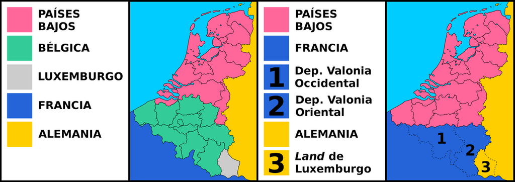 Deletion of belgium and luxembourg by matritum on deviantart for Capital region craft fairs