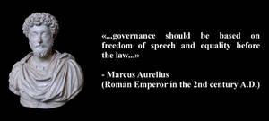 Written by Marcus Aurelius in his Meditations