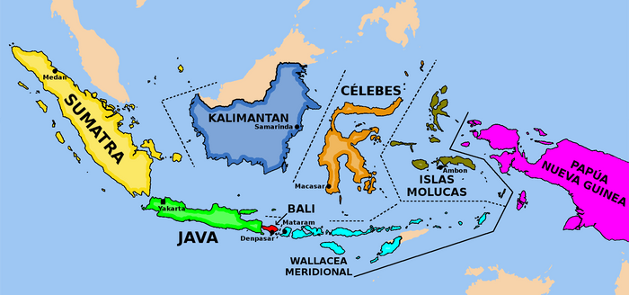 Reduction and federalization of Indonesia