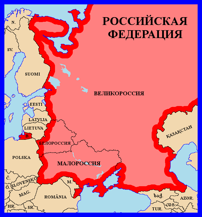 Alternative Russian Federation by matritum