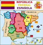 Map of Spanish Federal Republic (2)