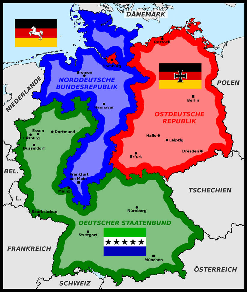 Map Of Germany Divided.Germany Divided By Religion By Matritum On Deviantart