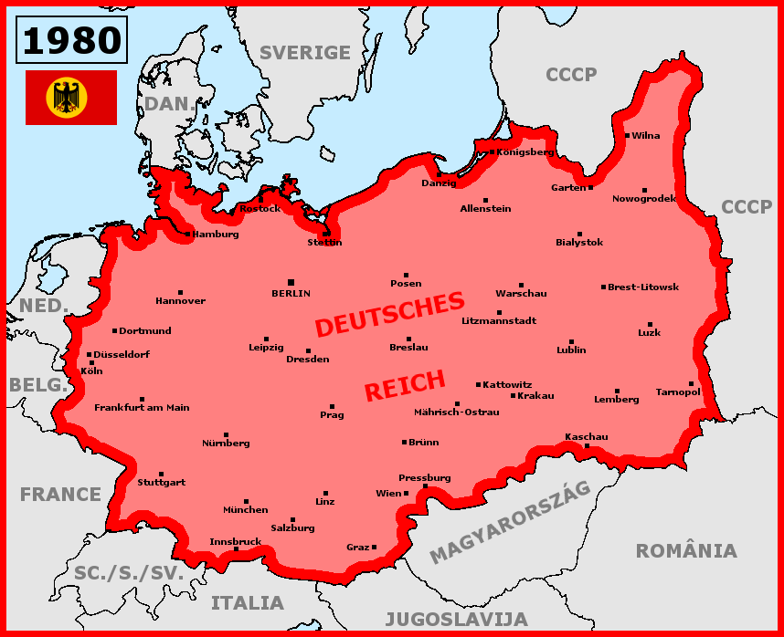 Map Of Germany 1980.Alternative Germany Hitler Died In His Bed By Matritum On Deviantart