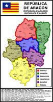 Map of Republic of Aragon