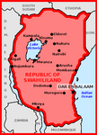 Map of Republic of Swahililand