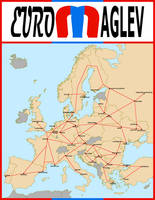 Euromaglev: a high-speed train system for Europe by matritum