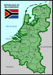 Map of Republic of Belgobatavia by matritum