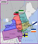 New northeastern states in USA