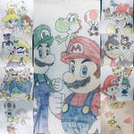 The Super Mario crew
