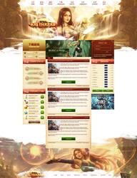 Metin2 Website by KurlzDesign