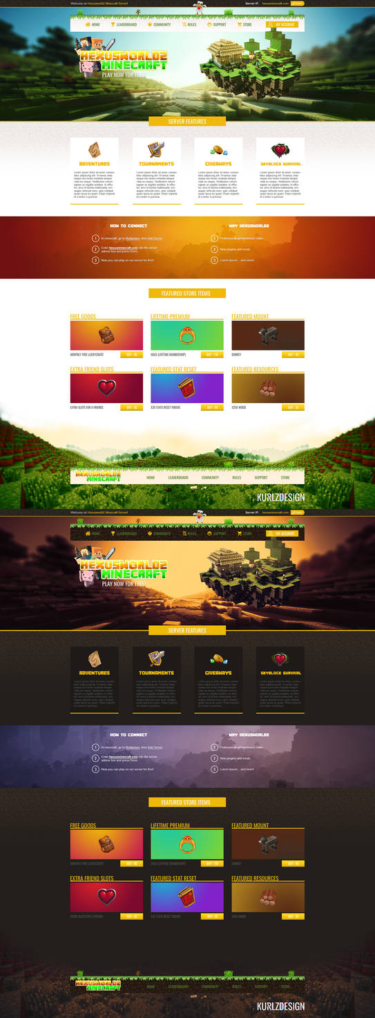 Minecraft day and night mode for sale by KurlzDesign