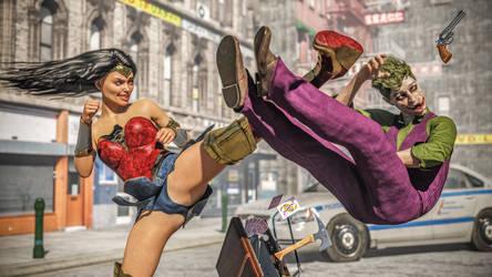 Wonder Woman VS Joker