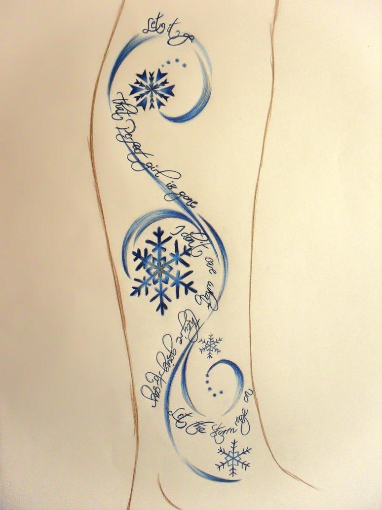 let it go tattoo by hazeleyes1990 on deviantart. Black Bedroom Furniture Sets. Home Design Ideas