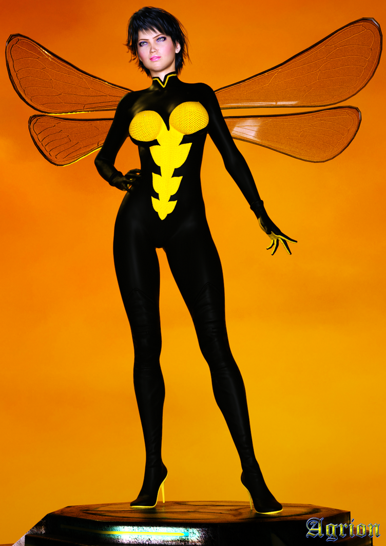 Avengers Wasp by Agr1on