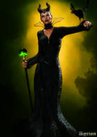 Maleficent by Agr1on
