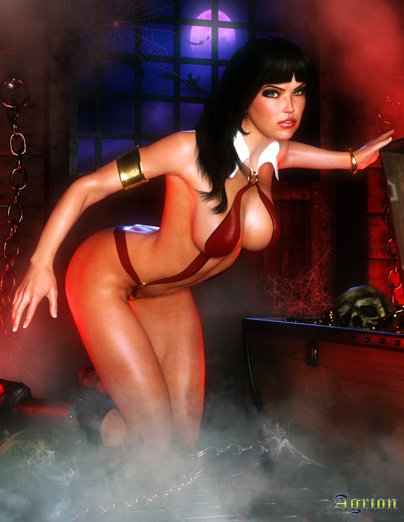 Vampirella 3d sex erotic tube