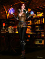 Triss Merigold by Agr1on