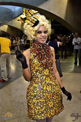 Effie Trinket cosplay 1 by FLovett
