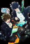 Makoto and Haruka {Render}