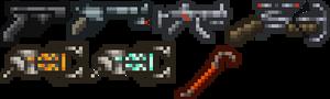 Half Life Weapons
