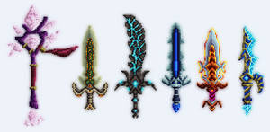 Desteria - World of Warcraft weapons