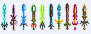Desteria - Terraria Swords