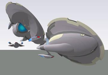 Medium Cruiser Concept WIP update by louielikespie
