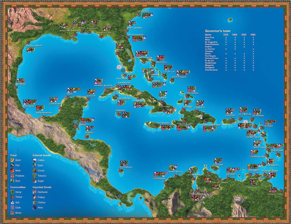 port royale 3 karte Port Royale' map by TyrenZin on DeviantArt