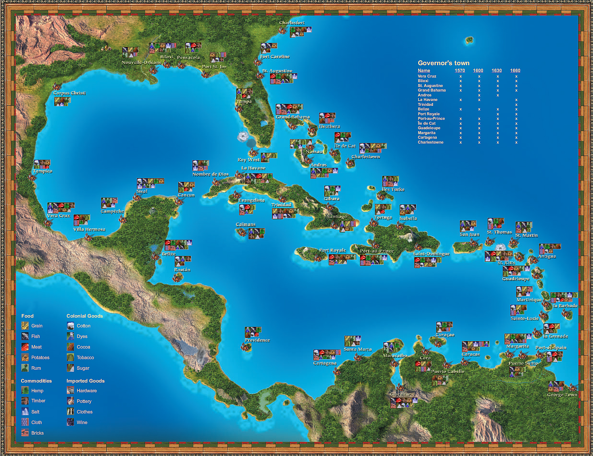 Port Royale 2 Mapa.Port Royale Map By Tyrenzin On Deviantart