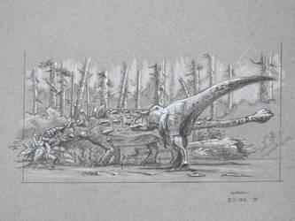 Dinovember-5 by c-gerisch