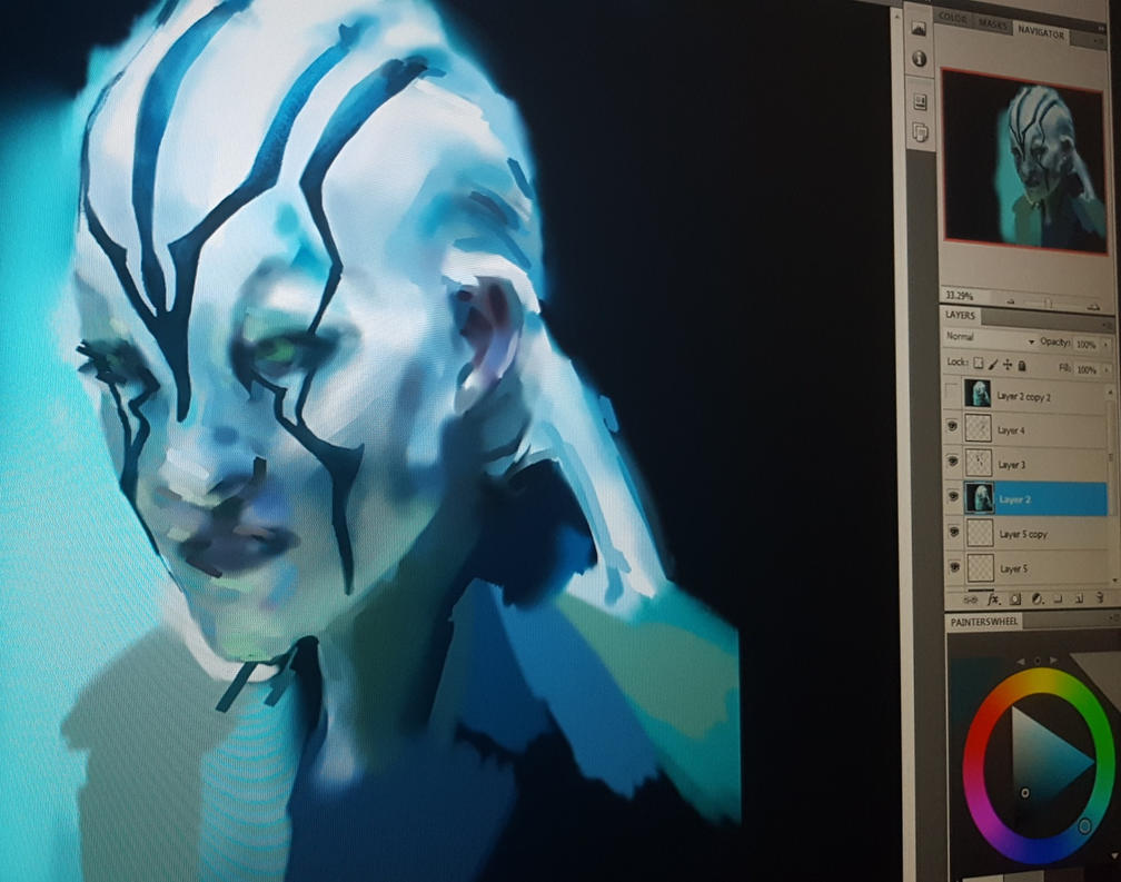 WIP Jaylah, Star Trek by DestinyBlooms