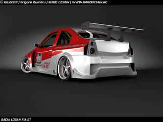 Dacia Logan Fia GT 3 by GRIGOdesign