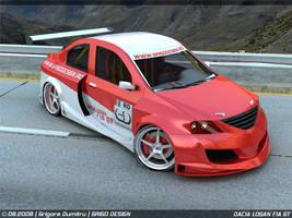 Dacia Logan FIA GT 4 by GRIGOdesign