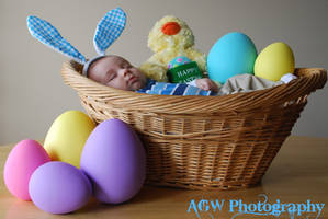 Nolans first Easter by fireandroses