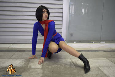 Carla Radames Resident Evil Cosplay by LadyOfBarians