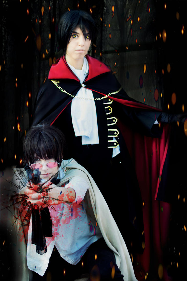Kamui and Fuuma cosplay by LadyOfBarians