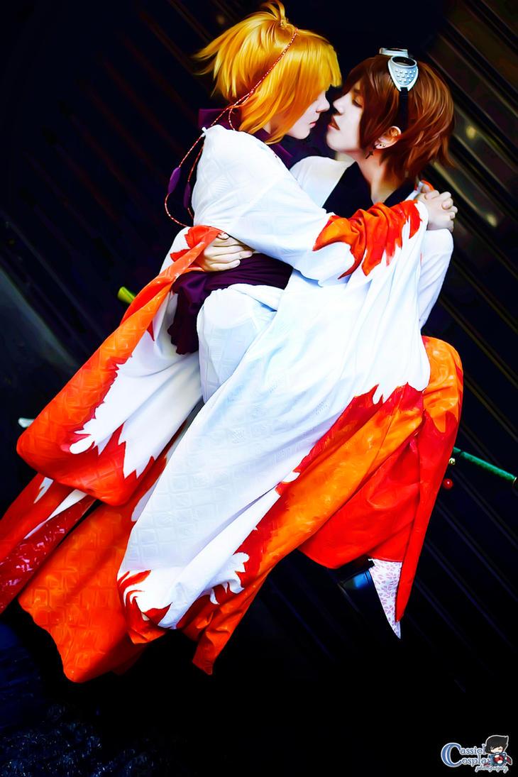 Sakura and Syaoran cosplay by LadyOfBarians