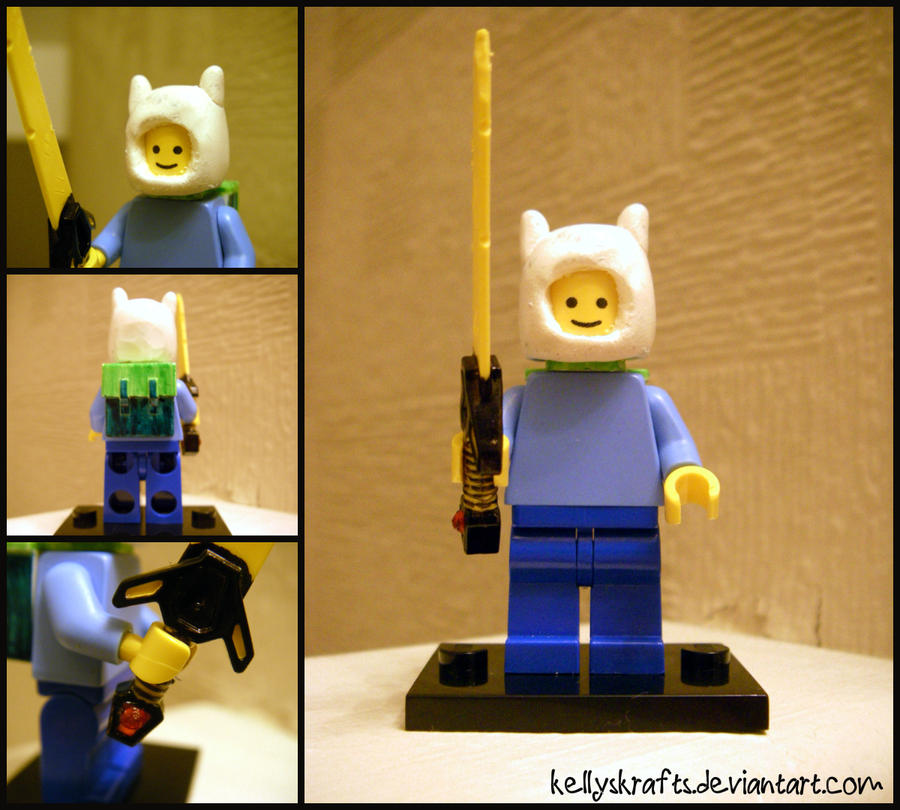 Custom Lego: Finn! by KellysKrafts