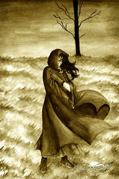 Across the wind...