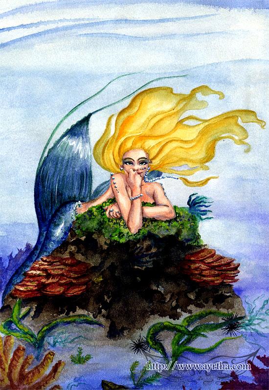 Mermaid 1 by Ayrtha