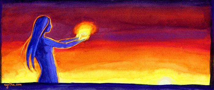Bath of Sun by Ayrtha