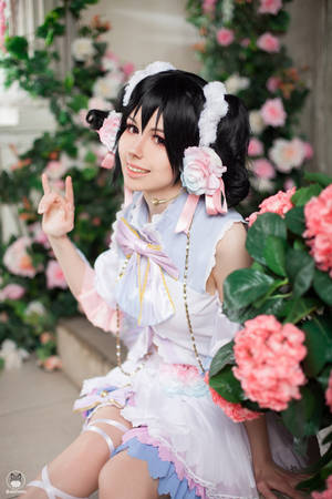 White day Nico by Double-Spark-Cosplay