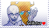 Grillster Stamp by Gaster-Story