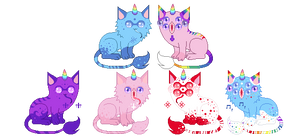 [CLOSED] Unicat Breedable by Gaster-Story